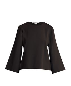 Stella Mccartney | Round-Neck Slashed-Sleeve Sweater