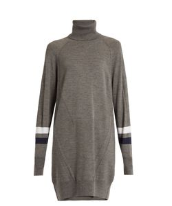 LNDR | Dux Roll-Neck Wool-Blend Performance Sweater