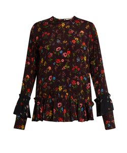 Preen Line | Milly Print Crepe Top