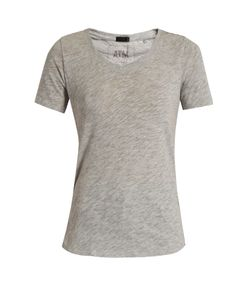 ATM | V-Neck Cotton-Blend T-Shirt