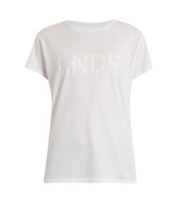 LNDR | Logo-Print Cotton Performance T-Shirt