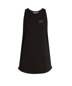 LNDR | Echo Perforated Performance Tank Top