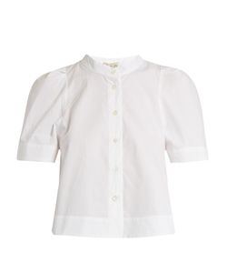 Sea | Short-Sleeved Cotton-Poplin Shirt