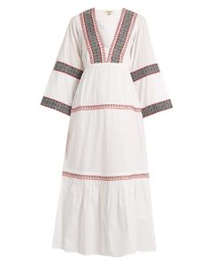 DAFT | Istanbul Embroidered-Cotton Dress