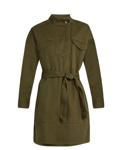 Isabel Marant Étoile | Omeo Cotton-Gabardine Tunic Dress