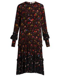 Preen Line | Yasmina Print Crepe Dress