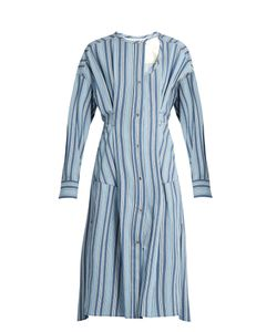 Isabel Marant | Selby Button-Through Striped Dress
