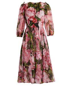 Dolce & Gabbana | -Print Chiffon Dress