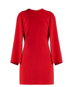 Givenchy | Round-Neck Long-Sleeved Cady Mini Dress