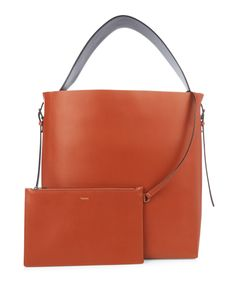 Valextra | Smooth Leather Tote Bag