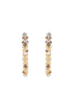 Lanvin | Chain Lumiere Crystal Drop Earrings