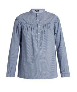 A.P.C.   Ingalls Striped Cotton Shirt