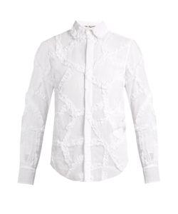 Jupe By Jackie   Ruffled Cotton-Organdie Shirt