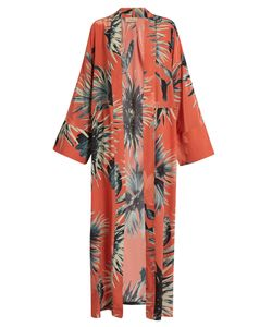 Adriana Degreas | -Print Silk Crepe De Chine Cover-Up