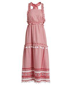 DODO BAR OR | Jossef Cross-Back Cotton Midi Dress