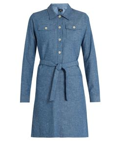 A.P.C. | Dolly Cotton-Chambray Dress