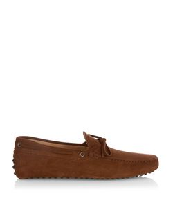 Tod'S | Laccetto Suede Driving Shoes