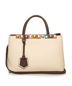 Fendi | 2jours Embellished Leather Tote