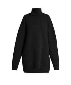 RAEY | Displaced-Sleeve Roll-Neck Wool Sweater