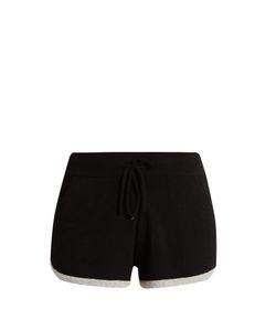 PEPPER & MAYNE | Drawstring-Waist Cashmere Shorts