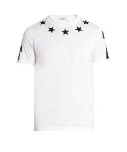 Givenchy | Cuban-Fit Star-Appliqué T-Shirt