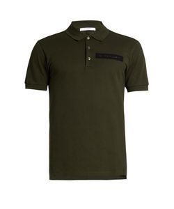 Givenchy | Cuban-Fit Patch-Appliqué Polo Shirt