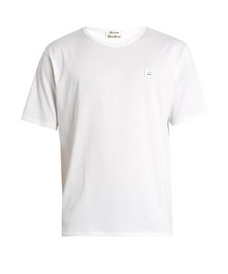 Acne Studios | Niagra Face-Patch Cotton T-Shirt