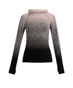 PEPPER & MAYNE | Hooded Compression Ombré Performance Top