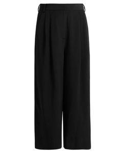 Tibi   Cropped Silk Trousers