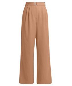 Tibi | Wide-Leg Twill Trousers