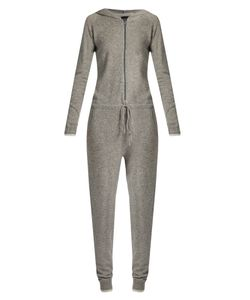 PEPPER & MAYNE | Hooded Cashmere Jumpsuit