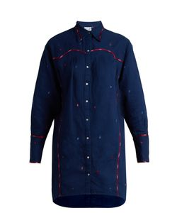 Thierry Colson | Ruth Embroidered Cotton Shirtdress