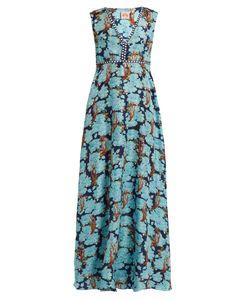 LE SIRENUSE, POSITANO | Astrid Sharazad-Print Silk Dress