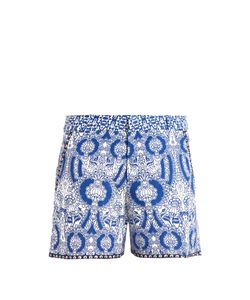 LE SIRENUSE, POSITANO | Isadora-Print Cotton Shorts