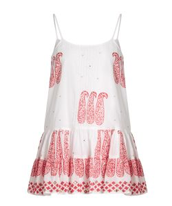 Juliet Dunn | Paisley-Printed Cotton Cami Dress
