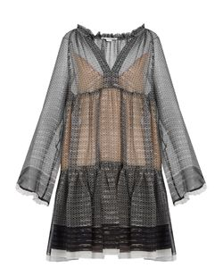 Stella Mccartney | Star-Print Silk-Blend Dress