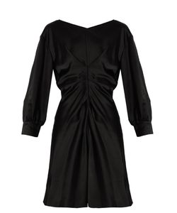 Isabel Marant   Rad Pleated-Front Satin Dress