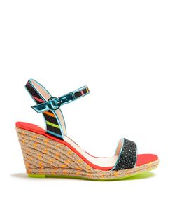 Sophia Webster | Lucita Multicoloured Espadrille Wedge Sandals