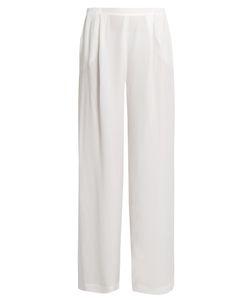 Carine Gilson | Silk-Satin Pyjama Trousers