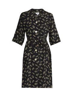 HVN | Leopard-Print Silk Kimono