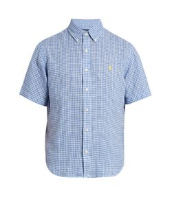 Polo Ralph Lauren | Short-Sleeved Checked Linen Shirt