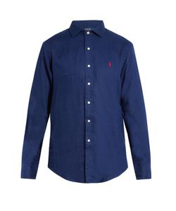 Polo Ralph Lauren | Spread-Collar Linen Shirt