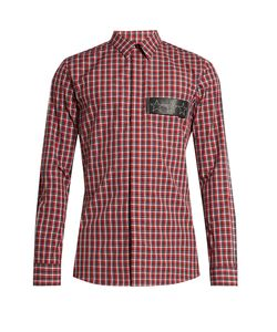 Givenchy | Checked Cotton Shirt