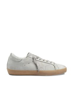 Golden Goose | Nubuck-Leather Low-Top Trainers