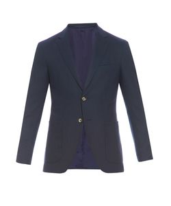 AC CANTARELLI | Patch-Pocket Wool-Blend Blazer
