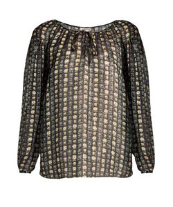 Saint Laurent | -Print Georgette Blouse