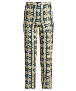 Etro | Mosaic-Print Slim-Leg Trousers