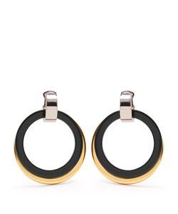 Marni | Double-Hoop Drop Clip-On Earrings