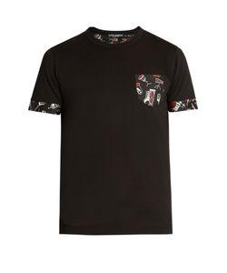 Dolce & Gabbana | Instrument-Print Panel T-Shirt
