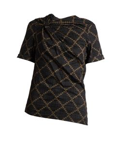 Isabel Marant Étoile | Jancis Geometric-Print Cotton Top
